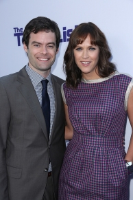 "Bill Hader and Director Maggie Carey arrive as CBS Films presents ""The To Do List"" Los Angeles Premiere on Tuesday July 23, 2013 at the Regency Bruin Theater in Los Angeles, CA (Alex J. Berliner/ABImages)"
