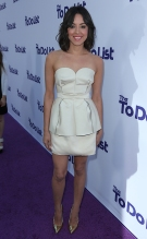 """Aubrey Plaza, wearing Calvin Klein, arrives as CBS Films presents """"The To Do List"""" Los Angeles Premiere on Tuesday July 23, 2013 at the Regency Bruin Theater in Los Angeles, CA (Alex J. Berliner/ABImages)"""