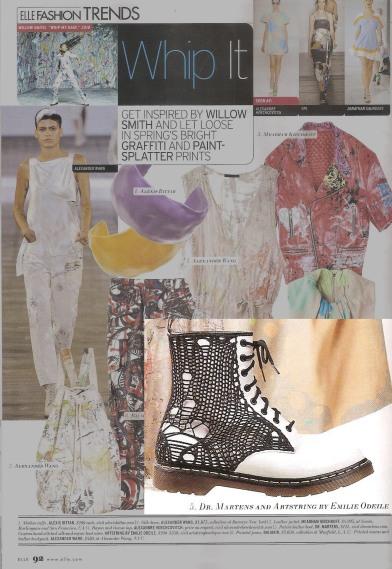 ARTSTRING Elle Magazine