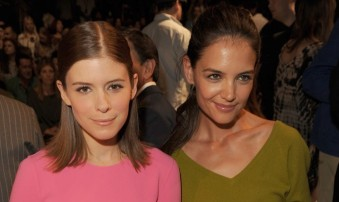 Kate Mara and Katie Holmes at Michael Kors