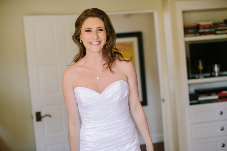 Small boobs on my wedding day! No back pain, just fun. Photo by Danielle Capito Photography