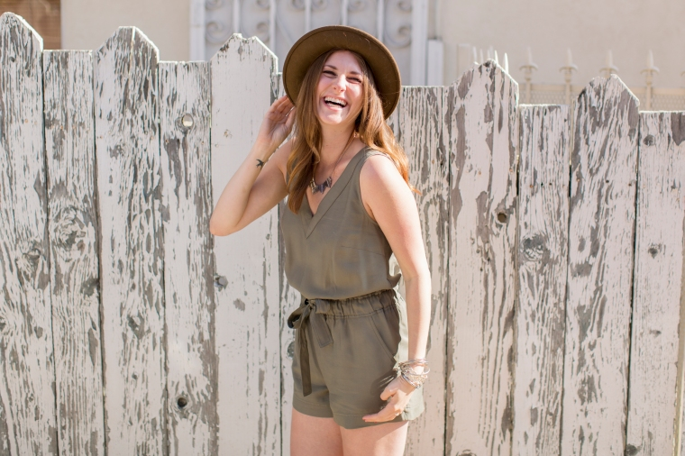 Rocksbox It Girl Banana Republic Romper Wild Pieces Blog
